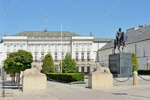 Fototapeta premium Pałac Prezydencki w Warszawie