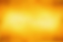 Abstract Orange Background Light Yellow Corner Spotlight, Faint