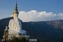 Wat Pra That Pha Son Keaw Buddhism Temple In Petchaboon, Thailand