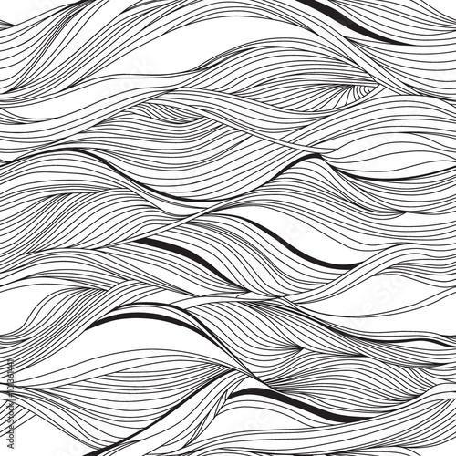 Wektorowy bezszwowy abstrakta wzór, fala