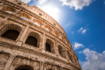 Fototapeta Rzym Great Colosseum in Rome