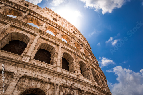 Spoed Foto op Canvas Rome Great Colosseum in Rome