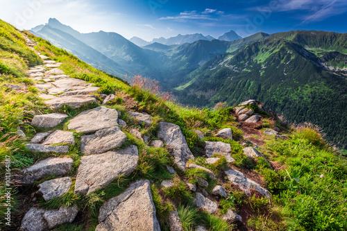 Tatras mountains at sunrise