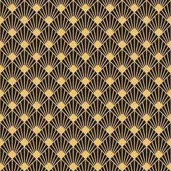 Naklejka Style Art Deco style seamless pattern texture
