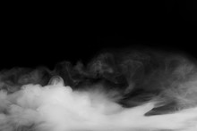 Abstract Fog Or Smoke Move On ...