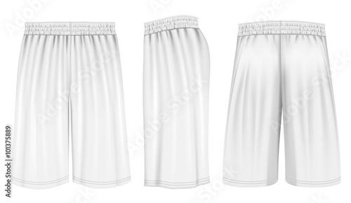 Obraz Vector basketball shorts  - fototapety do salonu