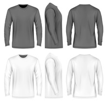 Men Long Sleeve T-shirt .