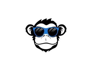 Fototapeta Monkey logo