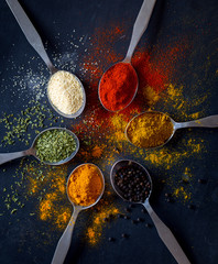 Fototapetacolorful spices