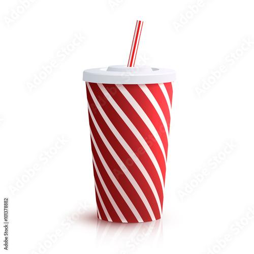 Fotografía  Cola Striped Glass