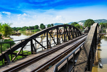 Bridge Over River Kwai, Thailand