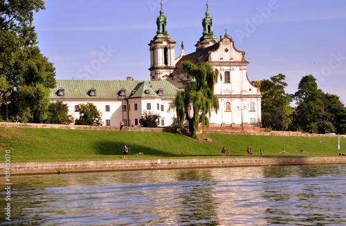 Photo Krakau - Skalka-Kirche - Kirche auf dem Felsen