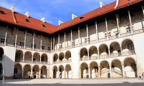 Krakau - Wawel-Königsschloss Canvas Print