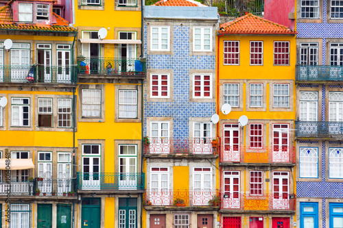 Fototapeta Ribeira, the old town of Porto, Portugal