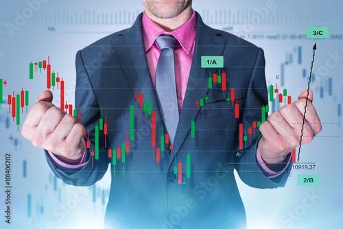 Fotografie, Obraz  Forex Trading Master