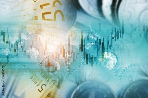 Fotografie, Obraz  Global Currency Trading