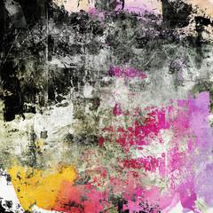 Obraz na Szklegrau pink farben textur