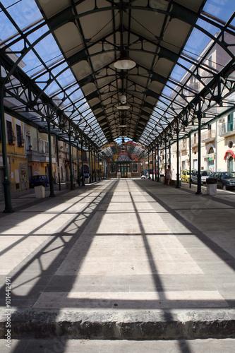Foto auf AluDibond Bahnhof foggia
