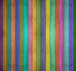 Colorful panorama wooden background.