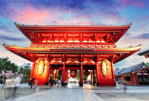 Foto op Plexiglas Temple Tokyo - Japan, Asakusa Temple