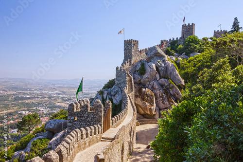 Fotografía Sintra, Portugal. Moors Castle landscape