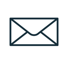Envelope Icon Flat Transparent Closed