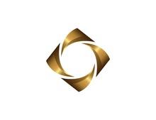 Gold Spiral Logo