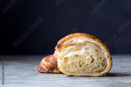 Fotografie, Obraz  Fresh baked croissants