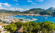 Panorama Küste Spanien Mittelmeer