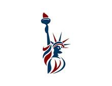 Liberty Statue Logo