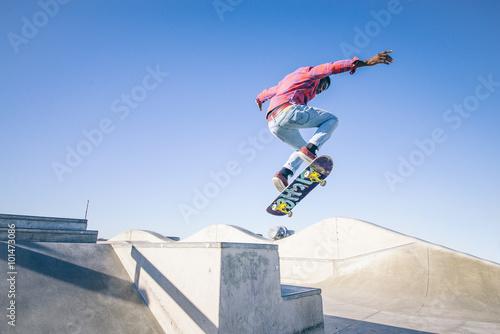 Skateboarder Canvas-taulu