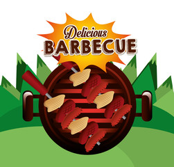 Fototapetadelicious barbecue design