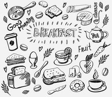 Vector Breakfast And Morning I...