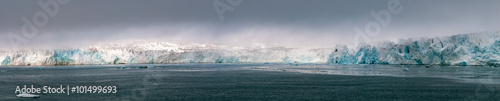 Fotomural Svalbard Spitzbergen island glacier view