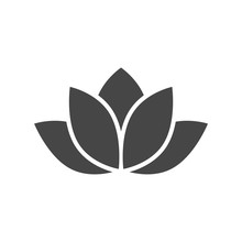 Lotus Silhouette Icon