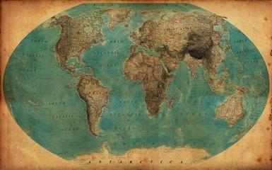 Fototapetavintage map