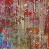 Grunge old-fashioned background with space for text or image. With different color patterns: brown; red (orange); pink; blue; green
