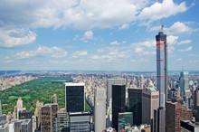 New York, Vista Su Central Park, Grattacieli