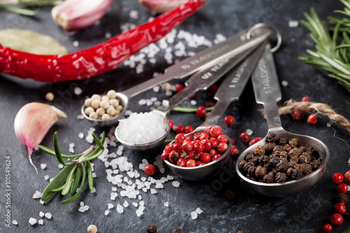 Fotografering  Herbs and spices
