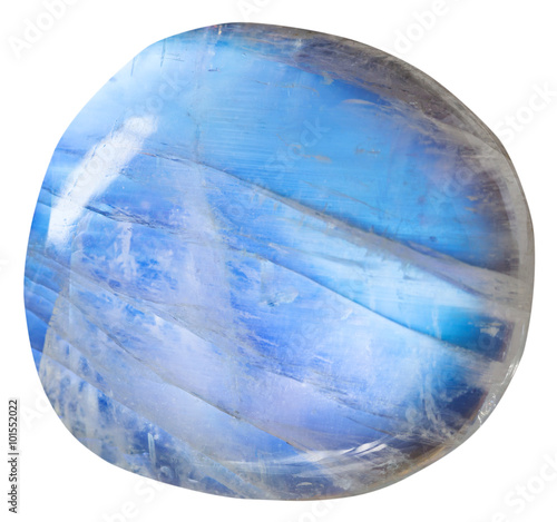 tumbled blue moonstone (adularia) mineral gem Tapéta, Fotótapéta