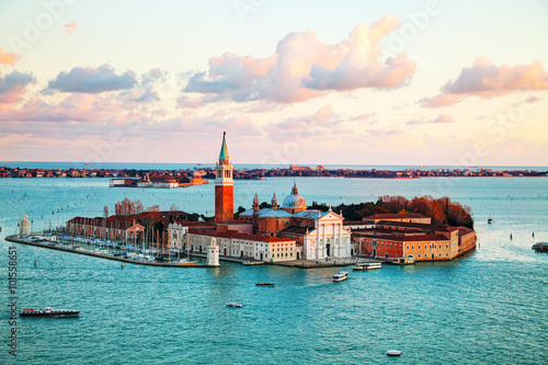 Foto  Aerial view of Venice, Italy