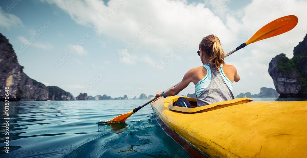 Fototapety, obrazy: Kayaking