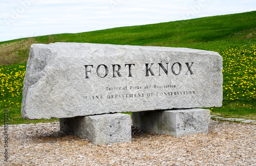 Fotografie, Obraz  Fort Knox State Park