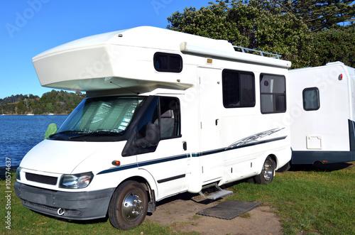 Photo  Campervan trip in New Zealand