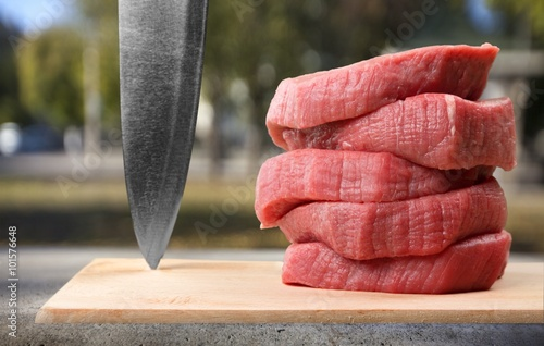 Meat. Tablou Canvas
