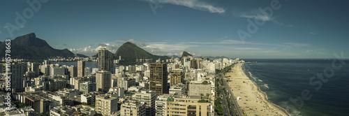 Rio De Janeiro City Panorama, Brazil Poster