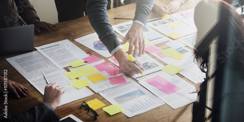 Fototapeta Business People Planning Strategy Analysis Office Concept obraz