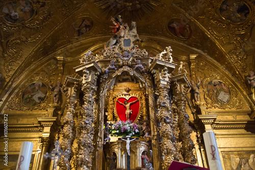 Fotografie, Obraz  Interior Iglesia de Tabuyo del Monte