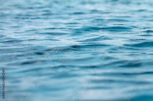 Staande foto Zee / Oceaan close up the sea and ocean water surface , selective focus