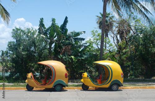 Two taxis, Varadero, Cuba